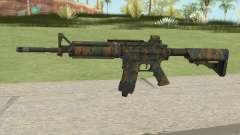 Warface M4A1 (Woodland) для GTA San Andreas