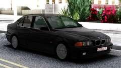 BMW 540i E39 Black для GTA San Andreas