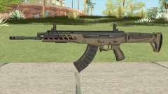 Warface AK-Alfa Desert (Without Grip) для GTA San Andreas