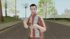 GTA Online Random Skin 29 (IAA Agent Summerwear) для GTA San Andreas