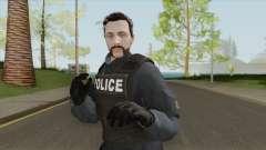 GTA Online Skin V5 (Law Enforcement) для GTA San Andreas