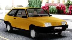 ВАЗ 2108 Экспорт Великобритания Желтый для GTA San Andreas