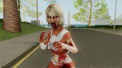 Zombie Cheerleader From Into The Dead для GTA San Andreas