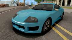 GTA V Dinka Jester Blue для GTA San Andreas