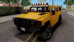 GTA V Mammoth Patriot v2 для GTA San Andreas