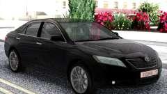 Toyota Camry XV40 2007 Black для GTA San Andreas
