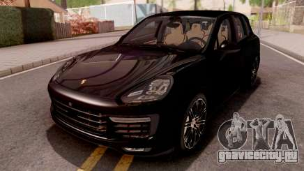Porsche Cayenne Turbo S Black для GTA San Andreas