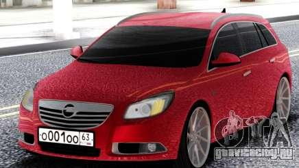 Opel Red Insignia для GTA San Andreas