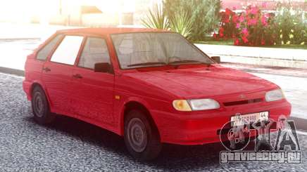 ВАЗ 2114 Красный для GTA San Andreas