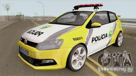 Volkswagen Polo PMPR для GTA San Andreas