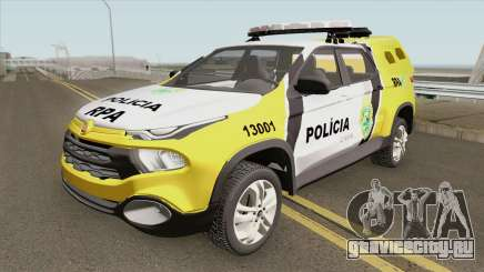 Fiat Toro (Policia Militar) для GTA San Andreas