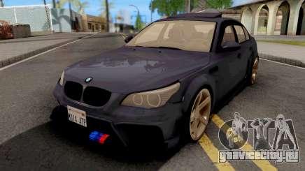 BMW M5 E60 Violet для GTA San Andreas