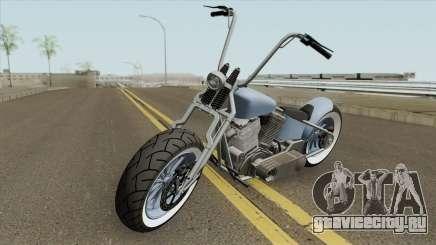 Zombie Bobber GTA V (Metal Claro) для GTA San Andreas