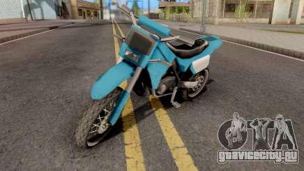 Sanchez to Mountain Bike для GTA San Andreas