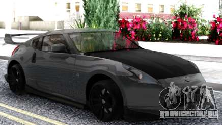 Nissan 370z Grey для GTA San Andreas