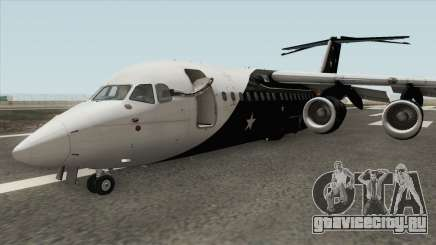 Avro RJ85 (Titan Airways Livery) для GTA San Andreas