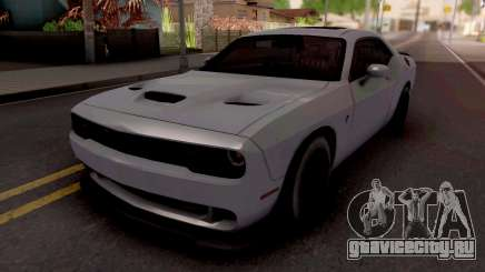 Dodge Challenger Hellcact Lowpoly для GTA San Andreas