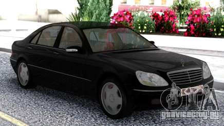 Mercedes-Benz S600 W220 Black для GTA San Andreas