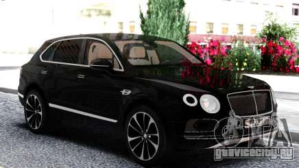 Bentley Black Bentayga для GTA San Andreas