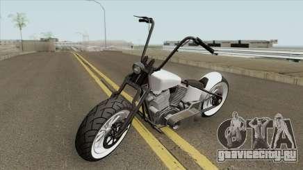 Zombie Bobber GTA V (Metal Oscuro) для GTA San Andreas