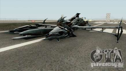 Transformers Megatron Jet 2007 для GTA San Andreas