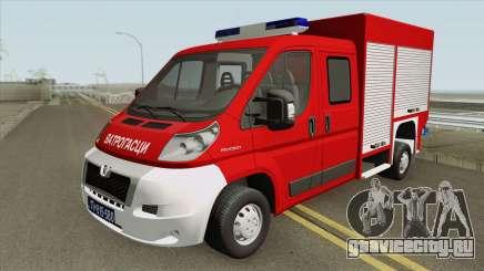 Peugeot Boxer Vatrogasci для GTA San Andreas