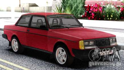 Volvo 242 Intercooler Turbo Red для GTA San Andreas