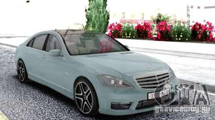 Mercedes-Benz S65 W221 Sedan для GTA San Andreas