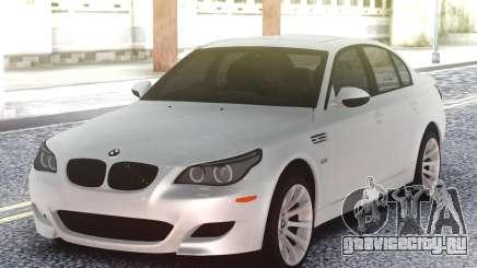 BMW M5 E60 Sedan White для GTA San Andreas