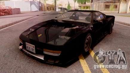 Ferrari Testarossa Custom Black для GTA San Andreas
