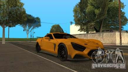 Flanker F для GTA San Andreas