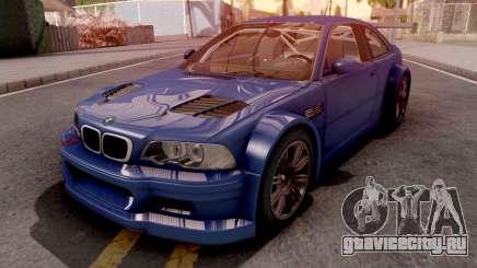BMW M3 E46 GTR Blue для GTA San Andreas