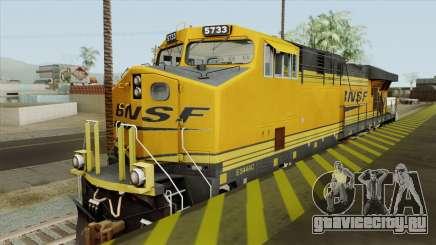 GE ES44AC Freight BNSF (Update) для GTA San Andreas