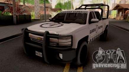 Chevrolet Cheyenne 2016 Guardia Nacional для GTA San Andreas