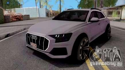 Audi Q8 2019 Grey для GTA San Andreas