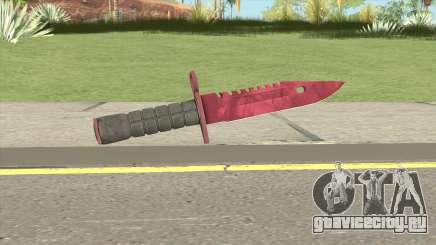 CS:GO M9 Bayonet (Doppler Ruby) для GTA San Andreas