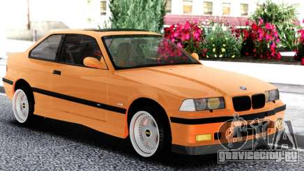BMW E36 Coupe Orange для GTA San Andreas