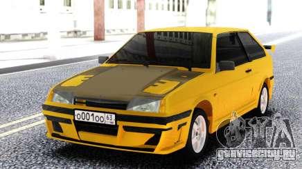 ВАЗ 2108 Желтый для GTA San Andreas