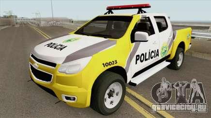 Chevrolet S10 (Policia Militar) для GTA San Andreas