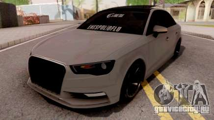 Audi A3 E Edition для GTA San Andreas