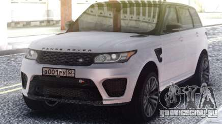 Range Rover Sport SVR White для GTA San Andreas