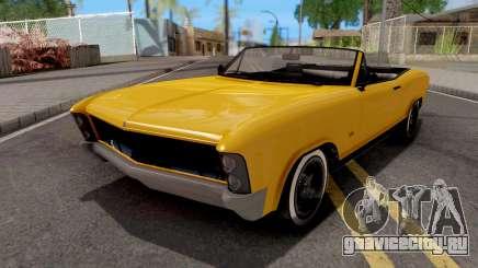 GTA V Albany Buccaneer для GTA San Andreas