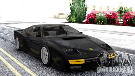 Ferrari Testarossa Black для GTA San Andreas