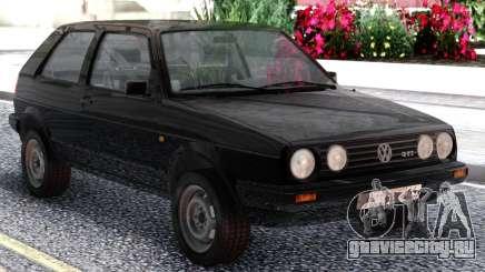 Volkswagen Golf II Black для GTA San Andreas