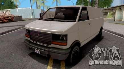 GTA V Declasse Burrito White для GTA San Andreas