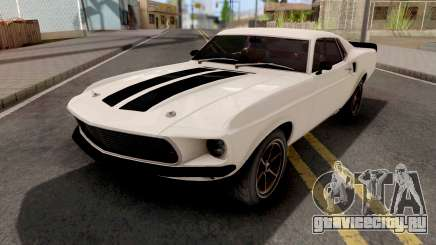 Ford Mustang Fastback 1969 Fast and Furious 6 для GTA San Andreas