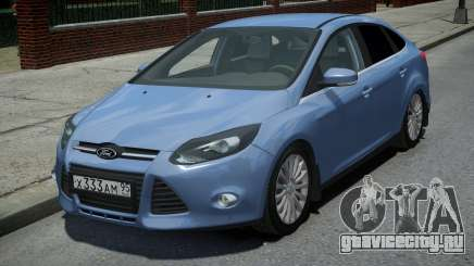 Ford Focus 3 Sedan для GTA 4