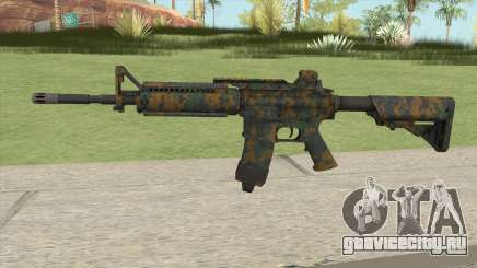 Warface M4A1 (Woodland) для GTA San Andreas