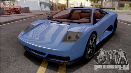 GTA V Pegassi Infernus Blue для GTA San Andreas