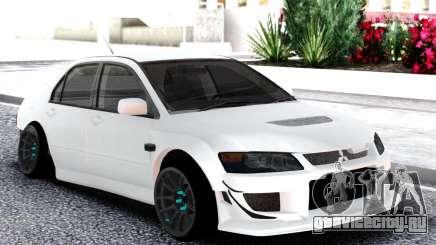 Mitsubishi White Lancer Evo 9 для GTA San Andreas
